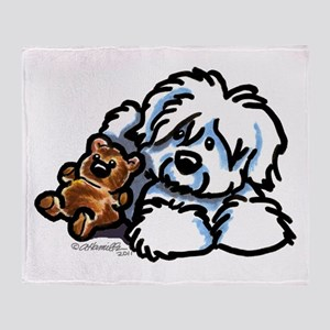 Coton Teddy Throw Blanket