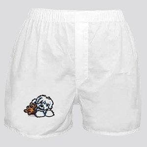 Coton Teddy Boxer Shorts