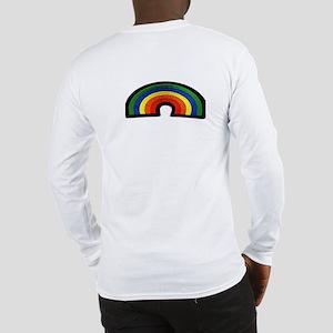 RAINBOW FURRY STRIPES Long Sleeve T-Shirt