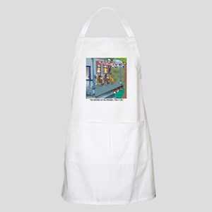 At The Old Cats' Home BBQ Apron