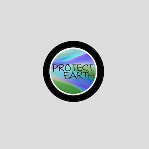 Protect Earth Mini Button