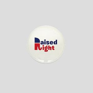 Raised Right Mini Button