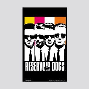 Reservoir Dogs DVD Cover Style Sticker