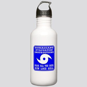 Hurricane Evacuation Stainless Water Bottle 1.0L
