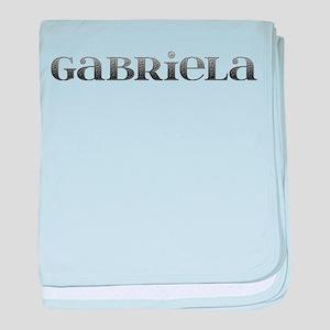Gabriela Carved Metal baby blanket