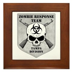 Zombie Response Team: Tampa Division Framed Tile