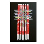 Woven Banner Postcards (package Of 8)