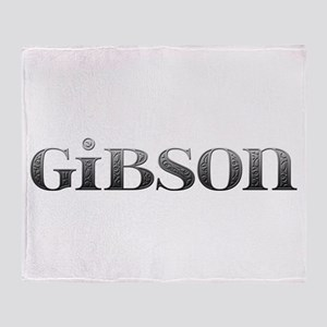 Gibson Carved Metal Throw Blanket