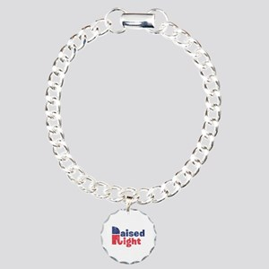 Raised Right 2 Charm Bracelet, One Charm