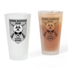Zombie Response Team: Seattle Division Drinking Gl