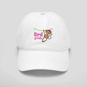Cute 3rd Grade Monkey Gift Cap