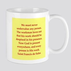 Saint Frances de Sales. Mug