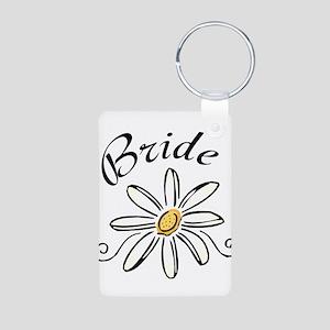 Bride Aluminum Photo Keychain