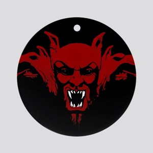 Dracula Round Ornament