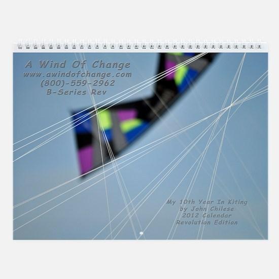 2013 Revolution Calendar Wall Calendar