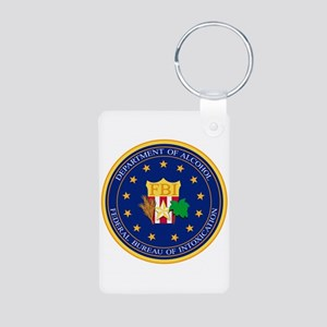 FBI - Department Of Alcoh Aluminum Photo Keychain