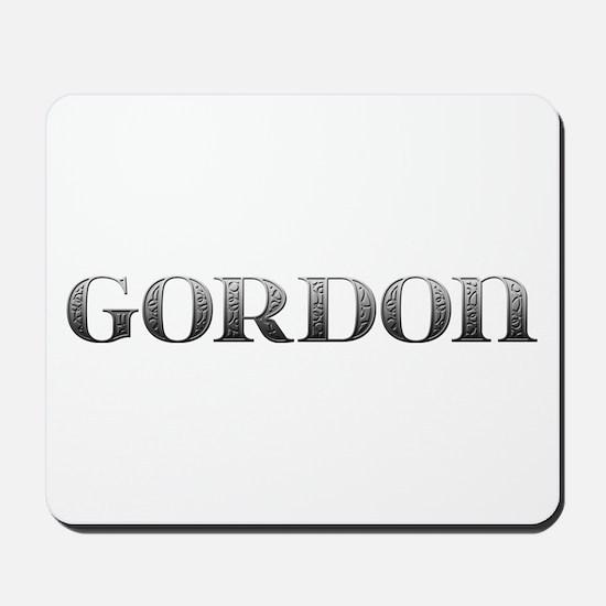 Gordon Carved Metal Mousepad