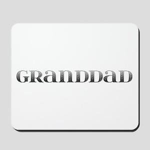 Granddad Carved Metal Mousepad