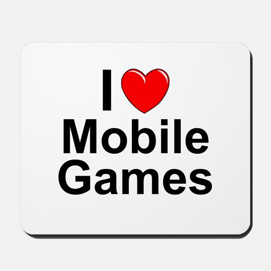 Mobile Games Mousepad