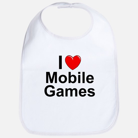 Mobile Games Cotton Baby Bib