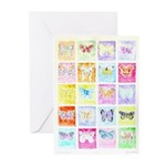 Butterflies Greeting Cards (20)