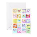 Butterflies Greeting Cards (10)