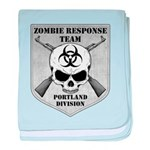 Zombie Response Team: Portland Division baby blank