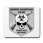 Zombie Response Team: Portland Division Mousepad