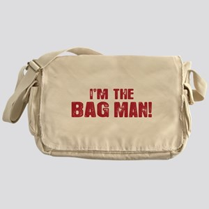 I'M THE BAG MAN Messenger Bag