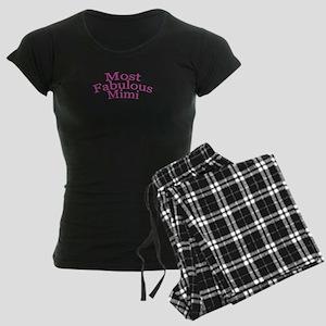 Most Fabulous Mimi Women's Dark Pajamas