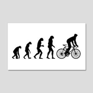 cycling evolution 22x14 Wall Peel
