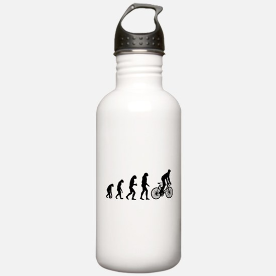 cycling evolution Water Bottle
