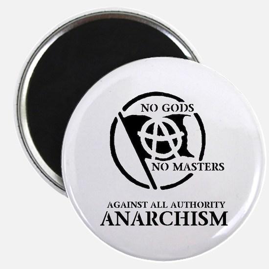 "No Gods No Masters 2.25"" Magnet (10 pack)"
