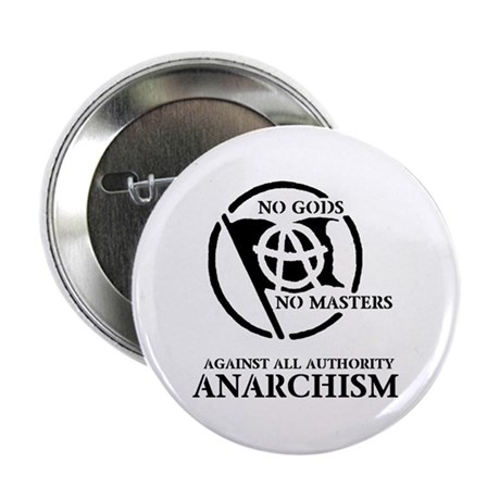 "No Gods No Masters 2.25"" Button (100 pack)"