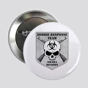 """Zombie Response Team: Omaha Division 2.25"""" Button"""
