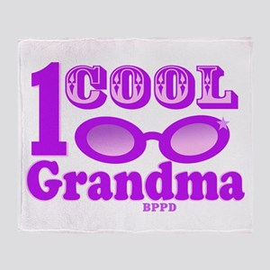 1 Cool Grandma Throw Blanket