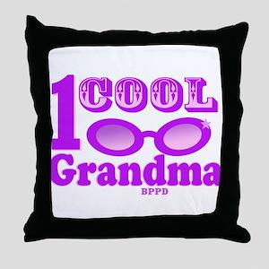 1 Cool Grandma Throw Pillow