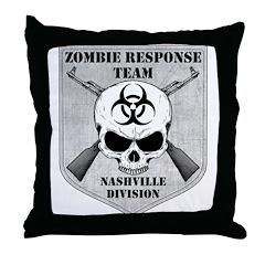 Zombie Response Team: Nashville Division Throw Pil