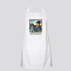 Cat Has 9 Life Insurance Plans Apron