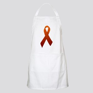 Orange Ribbon Apron