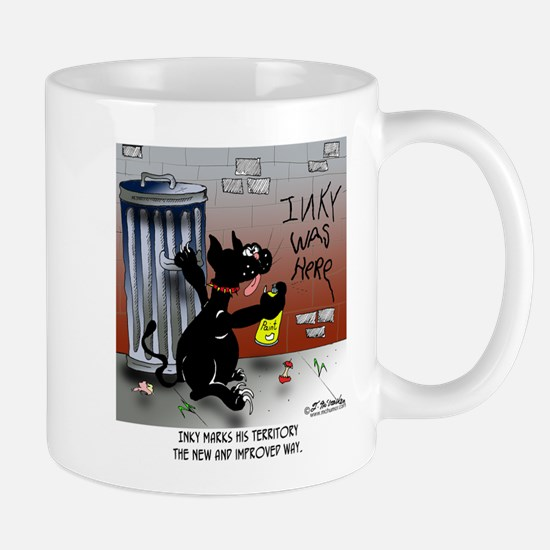 Cat Marks In A New & Improved Way Mug
