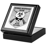 Zombie Response Team: Miami Division Keepsake Box