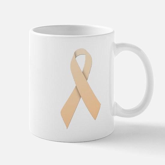 Peach Ribbon Mug