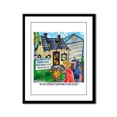 The Right To Remain Silent Framed Panel Print