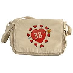 38th Valentine Messenger Bag