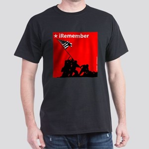 iRemember Memorial Day iPod Black T-Shirt