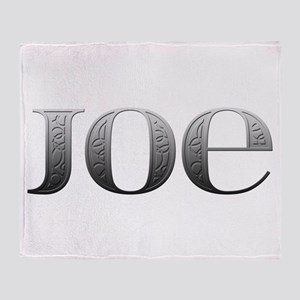 Joe Carved Metal Throw Blanket