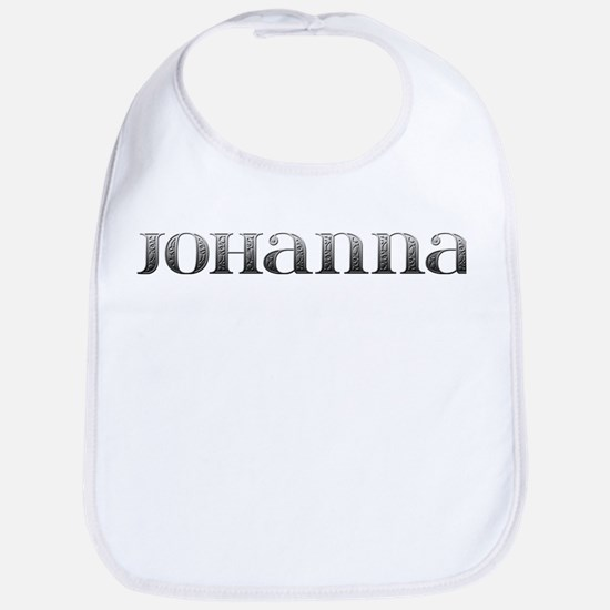 Johanna Carved Metal Bib