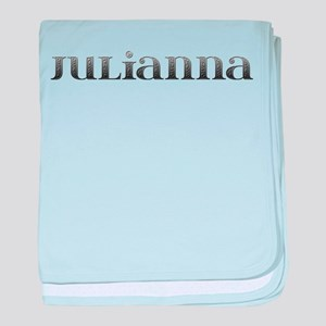Julianna Carved Metal baby blanket