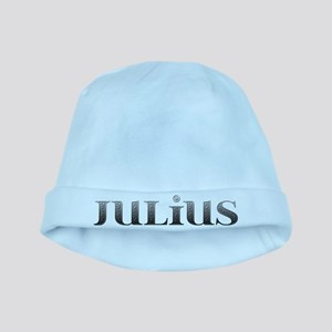 Julius Carved Metal baby hat
